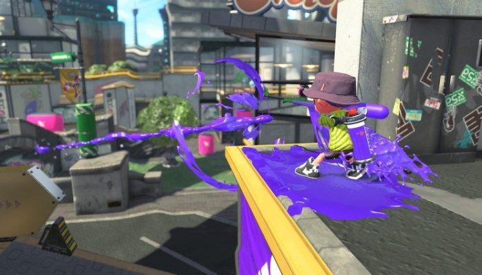 Nintendo France : 'Nouveau rapport du laboratoire de recherche sur les calamars : les armes de Splatoon2 – partie 2'