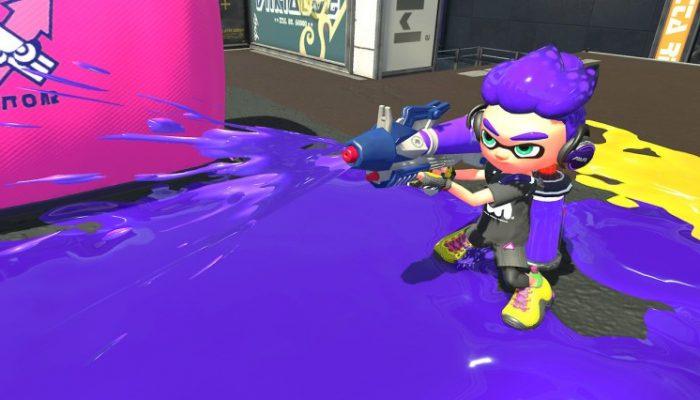 Nintendo France : 'Nouveau rapport du laboratoire de recherche sur les calamars : les armes de Splatoon2 – partie 1'
