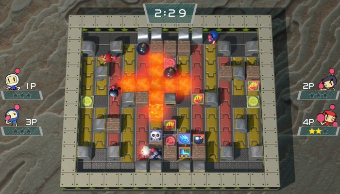 New free content coming to Super Bomberman R