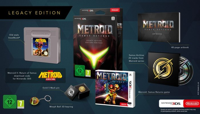 A look at the Metroid Samus Returns Legacy Edition