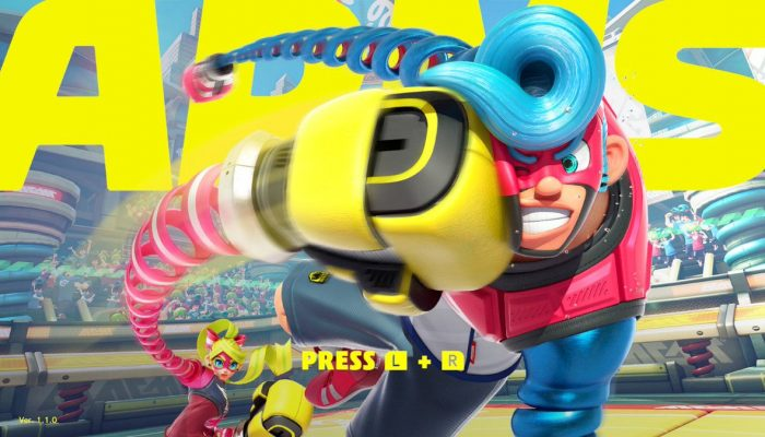 Arms's first update is now available