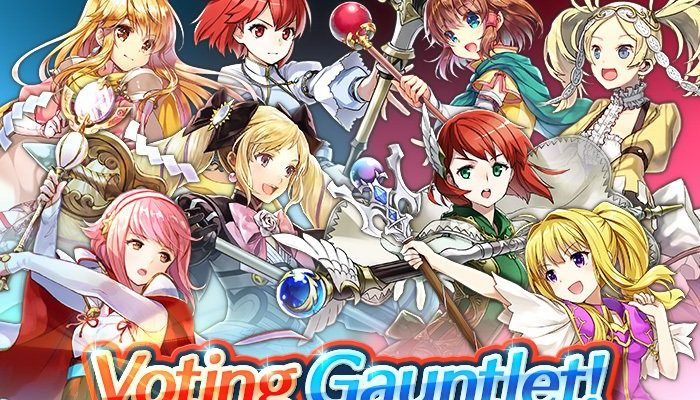 The War of the Clerics Voting Gauntlet is on in Fire Emblem Heroes
