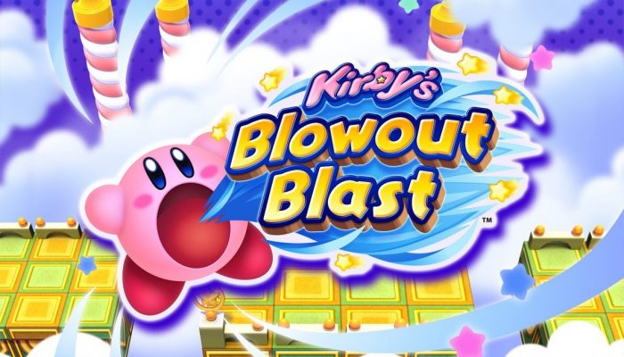 Kirby's Blowout Blast launches July 6 on the 3DS eShop