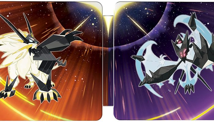Pokémon Ultra Sun & Ultra Moon Steelbook announced for North America