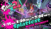 Splatoon 2 Splatfest World Premiere