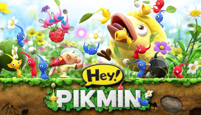 NoE: 'Discover the tiny world of the Pikmin at our official Hey! Pikmin website!'