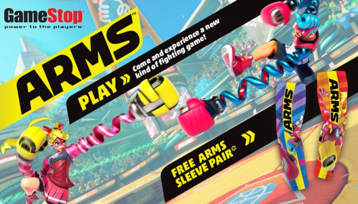NoA: 'Arms demo event at GameStop on 7/8'