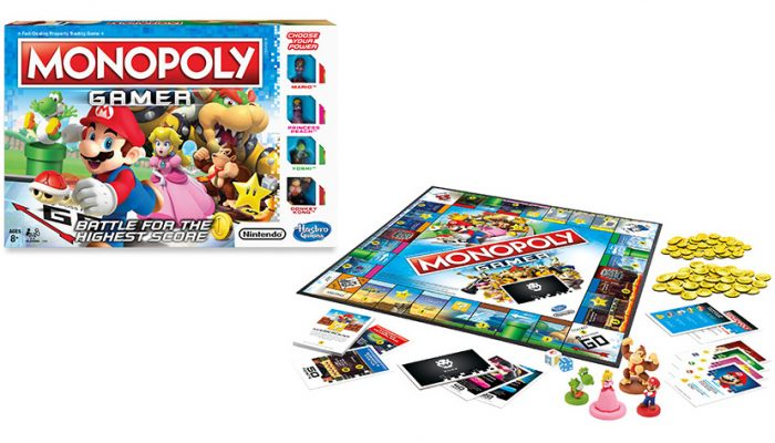 NoA: 'Hasbro and Nintendo introduce Monopoly Gamer, a new way to play Monopoly'