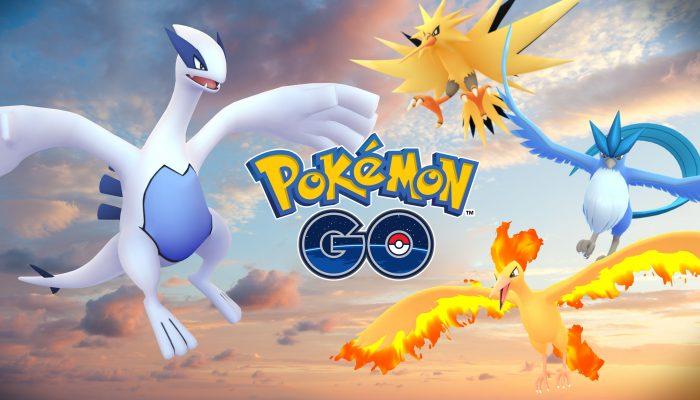 Niantic: 'Legendary Pokémon are here!'