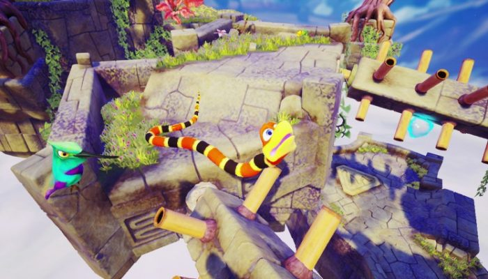 Snake Pass gets a sale on Nintendo Switch