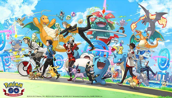 Pokémon: 'Celebrate the Anniversary of Pokémon Go'