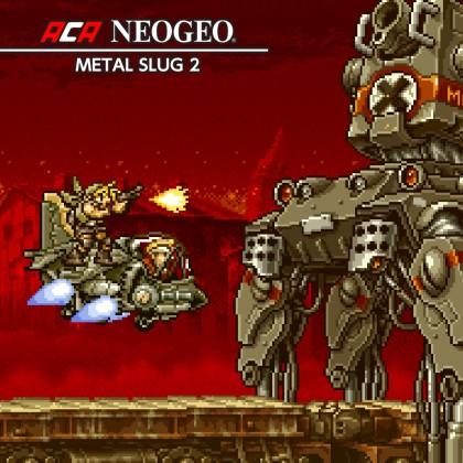 Nintendo eShop Downloads Europe ACA NeoGeo Metal Slug 2