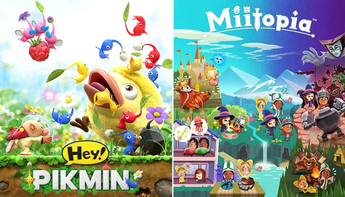 NoA: 'Miitopia and Hey! Pikmin: free demos & digital deals'