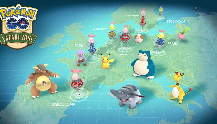 Niantic: 'Pokémon Go events around the world!'