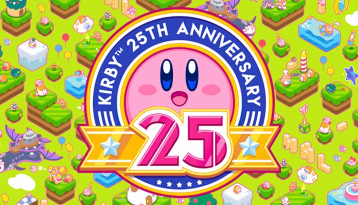NoA: 'Celebrate with Kirby content in honor of the pink puff's big anniversary!'