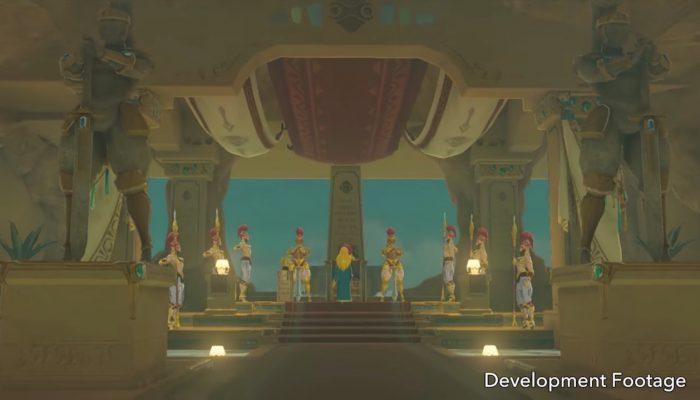 Nintendo France : 'Regardez une nouvelle courte vidéo du 2e pack de DLC pour The Legend of Zelda : Breath of the Wild – Ode aux Prodiges'