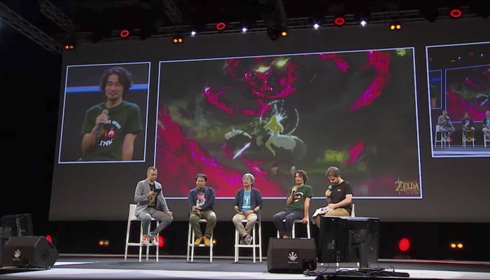 "Master Class ""The Art of the Legend of Zelda Series"" à la Japan Expo 2017"