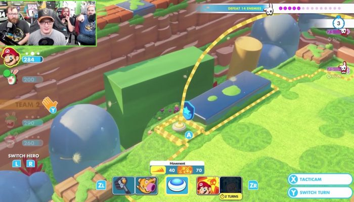 Mario + Rabbids Kingdom Battle – Let's Play Presents Co-op Mode with Achievement Hunter