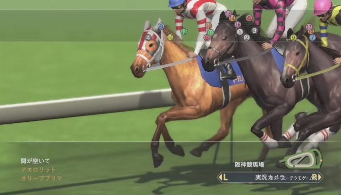 Winning Post 8 2017 – Japanese Nintendo Switch Trailer