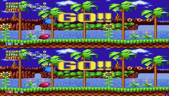 Sonic Mania – Competition Mode First Look