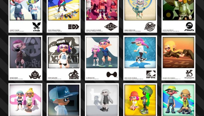 A look at all the brands currently featured in Splatoon 2