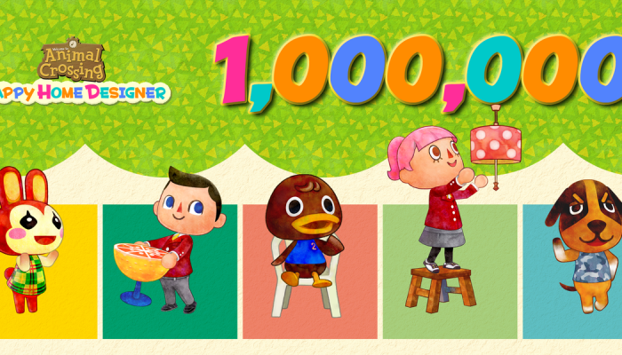 Animal Crossing Happy Home Designer reaches one million copies sold in Europe