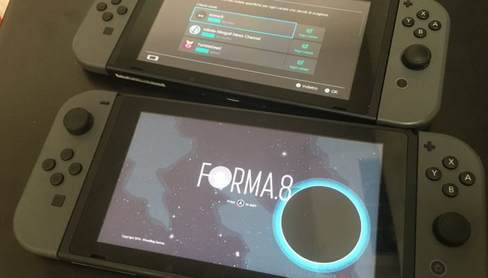 forma.8 is coming to Nintendo Switch