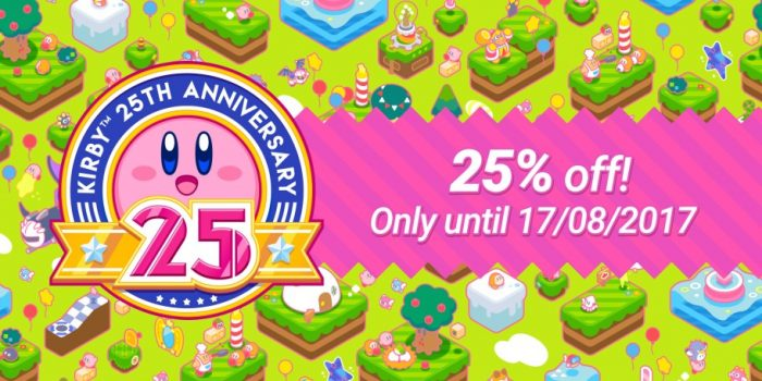 Nintendo eShop Sale Kirby's 25th Anniversary
