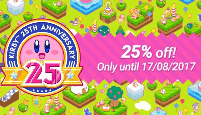 NoE: 'Nintendo eShop sale: Kirby 25th Anniversary Sale'