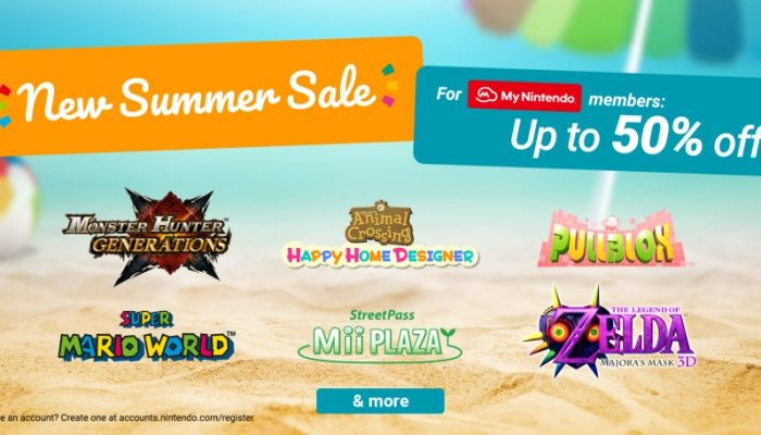 NoE: 'Nintendo eShop sale: New Summer Sale'