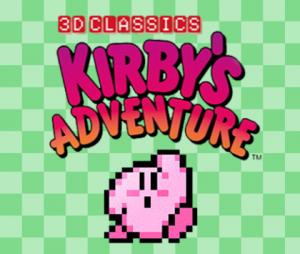 Nintendo eShop Sale 3D Classics Kirby's Adventure