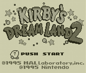 Nintendo eShop Sale Kirby's Dream Land 2