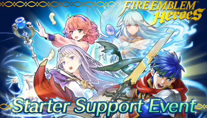 NoA: 'Starter Support events and new update for Fire Emblem Heroes'