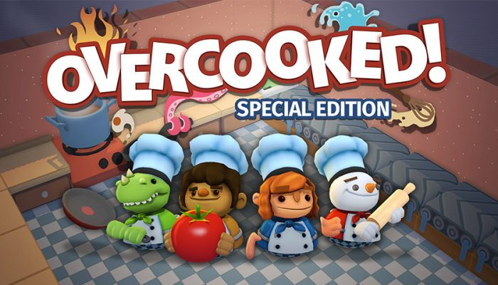 NoA: 'Overcooked Special Edition: Chaotic cooking action comes to the Nintendo Switch'