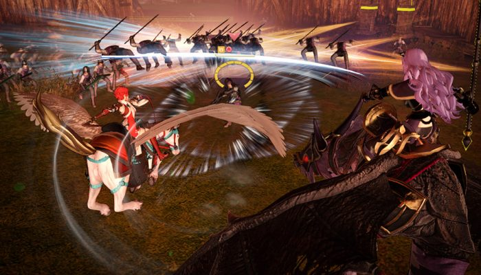 Fire Emblem Warriors – Additional System Screenshots
