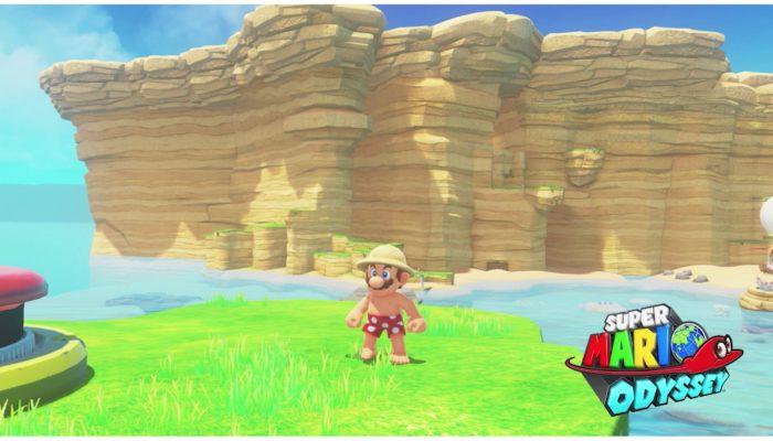 Nintendo Minute – Super Mario Odyssey Seaside Kingdom Game Play