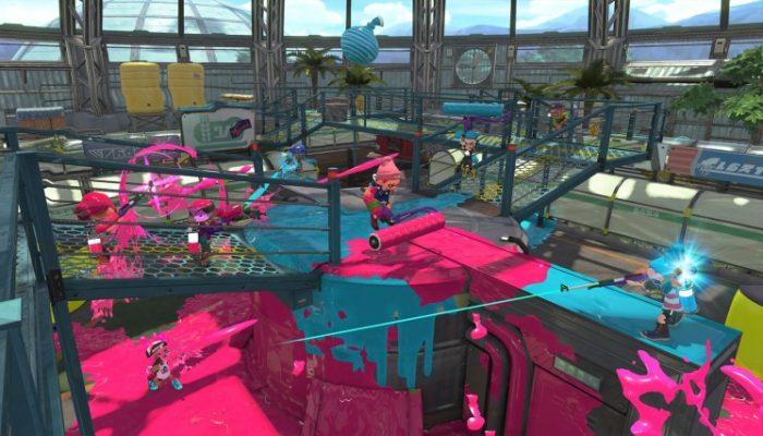 Nintendo France : 'Nouveau rapport du laboratoire de recherche sur les calamars : le stage Serre Goémon débarque dans Splatoon 2 !'