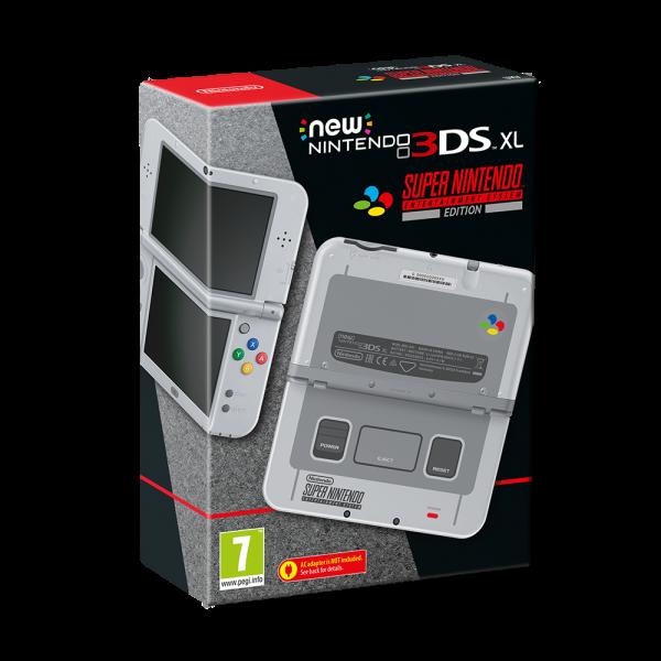 New Nintendo 3DS XL Super Nintendo Entertainment System Edition