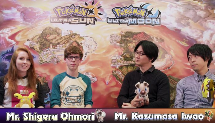 Nintendo UK: 'Loulou the Pikachu and Snorlax Sam introduce us to Pokémon Ultra Sun and Pokémon Ultra Moon with the developers'