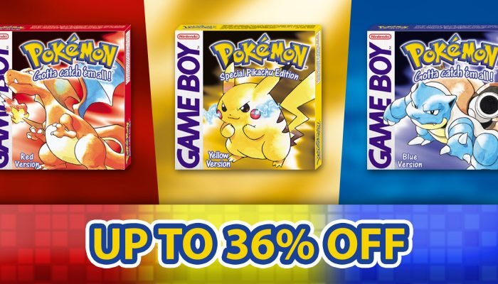 NoE: 'Nintendo eShop sale: Pokémon classics sale'