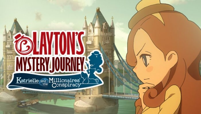 NoE: 'The renowned Layton series returns to Nintendo 3DS as Layton's Mystery Journey: Katrielle and the Millionaires' Conspiracy launches on 6th October'