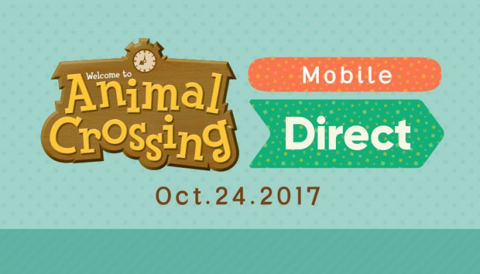 NoA: 'Animal Crossing: Pocket Camp coming to mobile devices in late November'