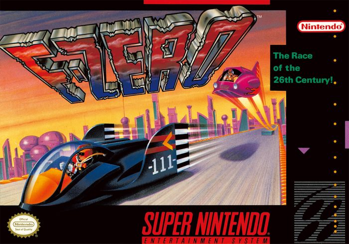 Nintendo Classic Mini Super Nintendo Entertainment System F-ZERO