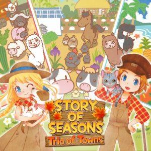 Nintendo eShop Downloads Europe Story of Seasons Trio of Towns