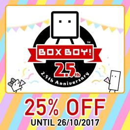 Nintendo eShop Downloads Europe BoxBoy 2.5th Anniversary Sale
