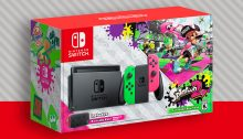 Nintendo Switch Splatoon 2 Edition Bundle