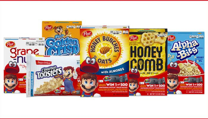 NoA: 'Nintendo and Post Consumer Brands team up for a 'SUPER' cereal promotion'