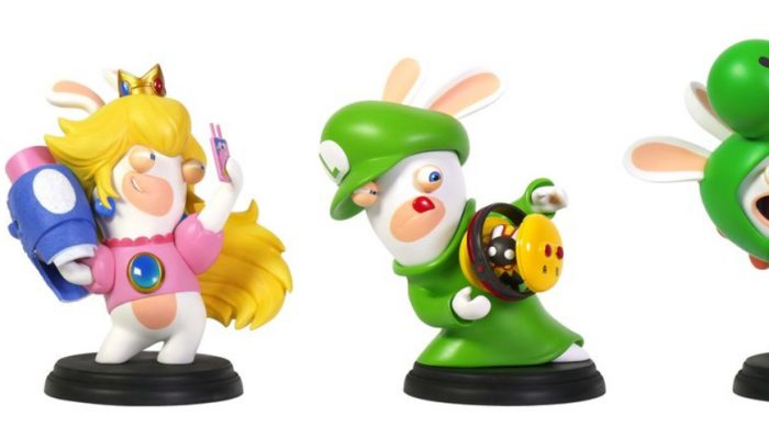 Ubisoft: 'Mario + Rabbids Kingdom Battle Figurines Now Available'