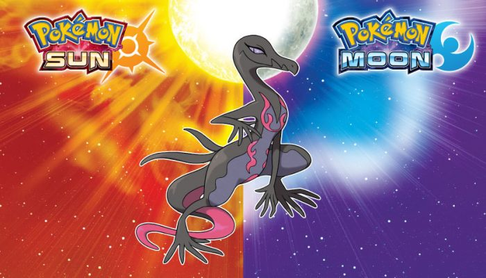 NoA: 'Don't miss your chance to catch the powerful Pokemon, Salazzle!'