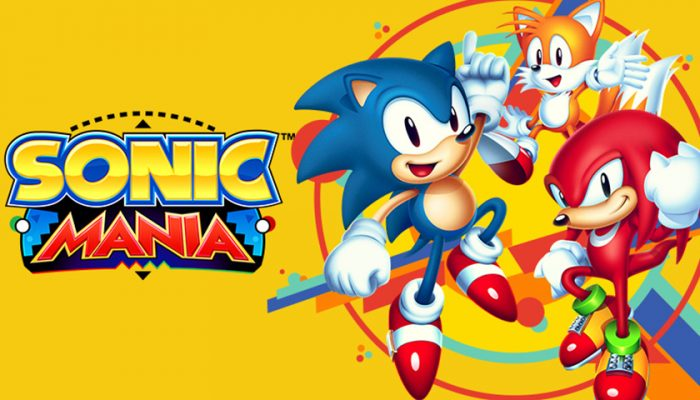 NoA: 'Classic Sonic the Hedgehog action returns in the all-new Sonic Mania'